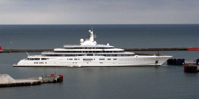 Gli yacht pi costosi del mondo ecco la classifica for Classifica yacht piu grandi del mondo