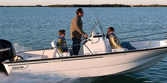 Boston Whaler: gamma da pesca