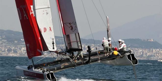 Catamarani di Coppa America 2013